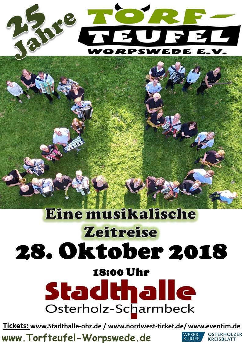 Konzert 2018 in der Stadthalle OHZ